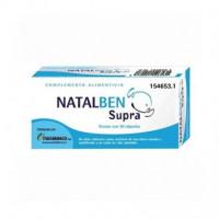 Natalben Supra Complemento Alimenticio para el Embarazo  30 Cápsulas  ITALFARMACO