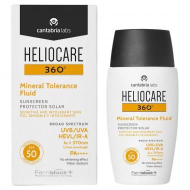 Heliocare 360º Mineral Tolerance Fluid Spf 50 50ML  CANTABRIA LAB