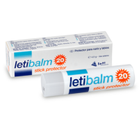 Letibalm Stick Protector E Hidratante de Labios Spf 20 4,5G  LETI