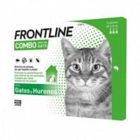 FRONTLINE Combo Spot-on Gatos Hurones 1 Pipeta X 0,5 Ml