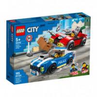 Lego City Police Policia Arresto en la Autopista  LEGO, S.A.