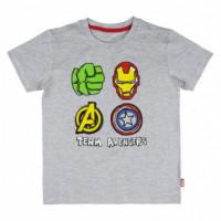 Pijama Corto Single Jersey Avengers  DISNEY
