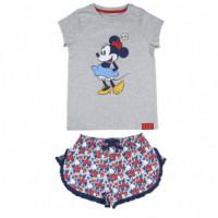 Pijama Corto Single Jersey Minnie  DISNEY