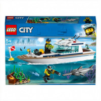 Lego City Great Vehicles 60221 Yate de Buceo  LEGO, S.A.