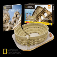 PUZZLE 3D NATIONAL GEOGRAPHIC EL COLISEO ROMANO