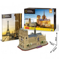 PUZZLE 3D NATIONAL GEOGRAPHIC NOTRE DAME