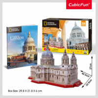 PUZLE 3D NATIONAL GEOGRAPHIC ST PAULS CATHEDRAL