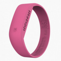 Led Watch Unisex Fuxia  TOO LATE