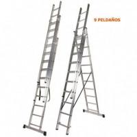 Escalera Aluminio 3 Tramos 3X9 AIRMEC