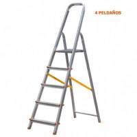 Escalera Aluminio 4 Peldaños AIRMEC