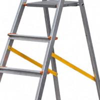 Escalera Aluminio 6 Peldaños con Cinta AIRMEC