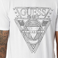 Outline Cn Ss Tee  GUESS
