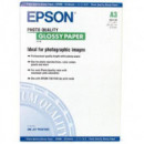 PAPEL EPSON DIN A-3 GLOSSY HQ