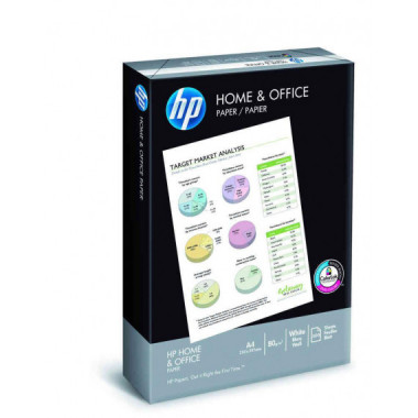 PAPEL FOTOCOPIA DIN A4, 80 gr  HP HOME PROFESIONAL