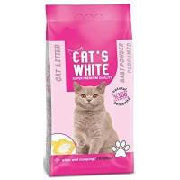 CATS WHITE Arena Aglomerant Talco 5 Kg