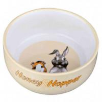 Trx Comedero Ceramica Honey Hopper 250ML  TRIXIE