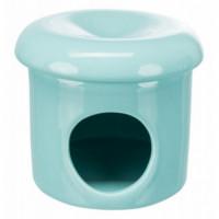 Trx Casita Ceramica Azul 12*10 Cm  TRIXIE