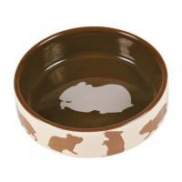 Trx Comedero Ceramica Motivos Hamster  TRIXIE