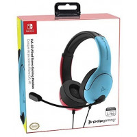 Auricular Wired Azul y Rojo Gaming Switch  SHINE STARS