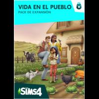 los Sims 4 Vida en el Pueblo Pack de Expansión Pc  ELECTRONICARTS