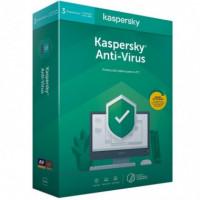 KASPERSKY Antivirus Kav 3 Licencias 1 Año Pc