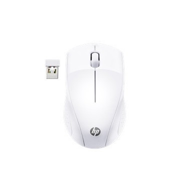 HP Ratón Inalámbrico 220 (blanco Nieve)
