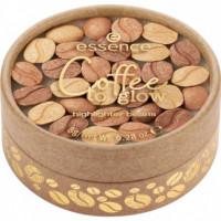 Ess. Coffee To Glow Granos de Iluminador en Polvo 01  ESSENCE
