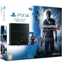 Consola PlayStation 4 1TB + Uncharted 4
