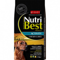 Nutribest Dog Ad. Activity 15 Kg  PICART