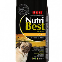 Nutribest Dog Ad. Light 3 Kg  PICART