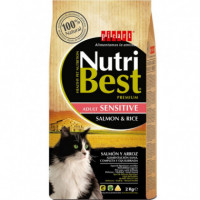 Nutribest Cat Salmon 2 Kg  PICART