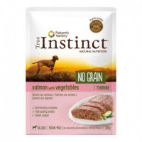 TI NO GRAIN DOG POUCH SALMON 300 GR