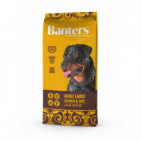 BANTERS DOG AD. LARGE POLLO 15 KG