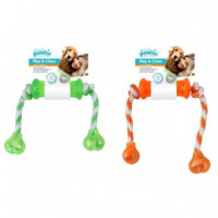 PAWISE PLAY N CHEW DUMBBELL
