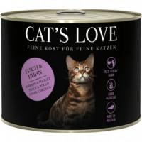 CATS LOVE AD. LATA PESCADO POLLO 200 GR