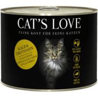 CATS LOVE AD. LATA VACUNO PAVO 200 GR