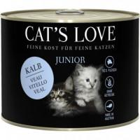CATS LOVE JR. LATA TERNERA 200 GR