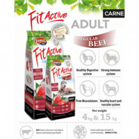 PANZI FIT ACTIVE DOG AD. BEEF 4 KG