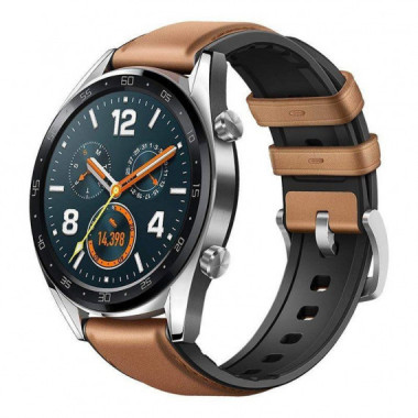 RELOJ INTELIGENTE GT FASHION BROWN PANTALLA 3.5CM AMOLED BT4.2 HUAWEI