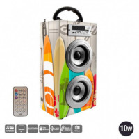 REPRODUCTOR SERIE PARTY BOOM BOX LARRYHOUSE