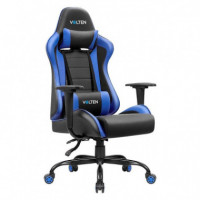 SILLA GAMING VLFORCE 550 NEGRA-AZUL VOLTEN