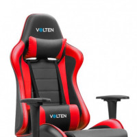 SILLA GAMING VLFORCE 550 NEGRA-ROJA VOLTEN