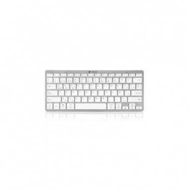 TECLADO WIRELESS BLUETOOTH DYNAMIC COMPACT SILVER SUBBLIM