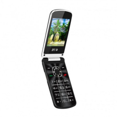 "TELEFONO MOVIL EPIC NEGRO 2.8"" DUAL SIM BT CAMARA SPC"