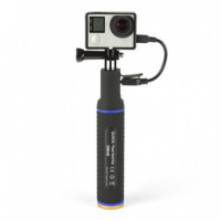 POWER GRIP MONOPOD CON BATERIA INTEGRADA 5200MAH QUICKMEDIA