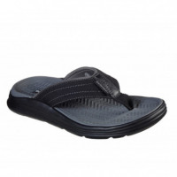 SKECHERS CHANCLA RELAXED FIT: SARGO REYON