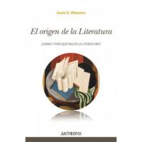ORIGEN DE LA LITERATURA,EL