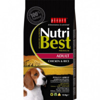 Nutribest Dog Ad. Pollo 15 Kg  PICART