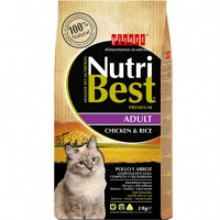 Nutribest Cat Ad. Pollo 15 Kg  PICART