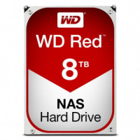 "Disco Duro WESTERN DIGITAL 8TB  3,5"" Sata Red"